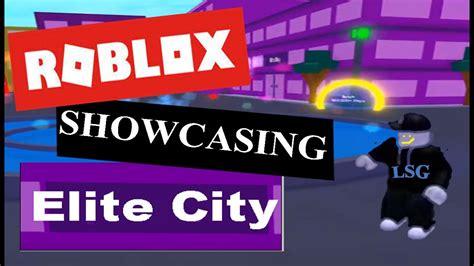 Showcasing Elite City In Speed City! (Roblox - Speed City ...