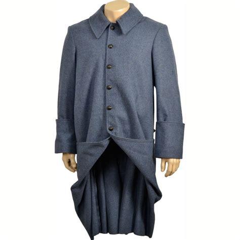 manteau de cavalerie bleu horizon