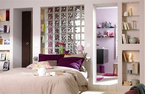 photo chambre parentale avec salle de bain et dressing chambre avec salle de bain ouverte et dressing modern aatl
