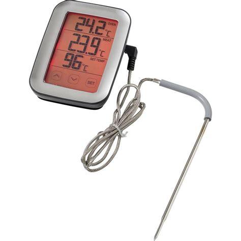 thermometre de cuisine thermomètre de cuisine numérique sunartis me216 surveillance de la température à coeur capteur