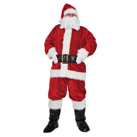 regal plush professional santa suit christmas fancy dress