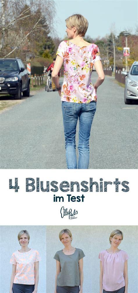 kleid nähen anfänger 4 leicht zu n 228 hende blusenshirts im vergleich sawing ideas bekleidung n 228 hen n 228 hen und