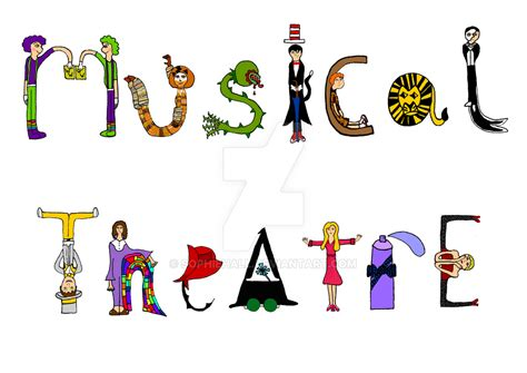 Musical Theatre Typography by SophieHall on DeviantArt