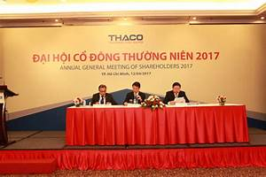 2017 THACO Annual General Shareholders' Meeting - 2017 ...