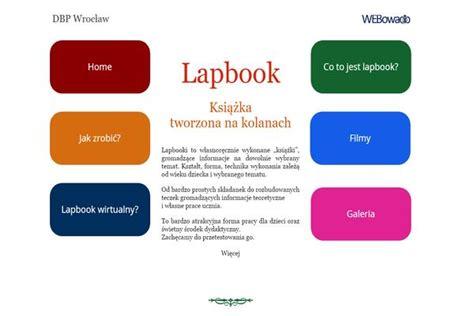 lapbook materiały dla nauczycieli