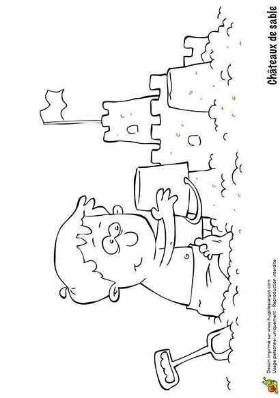 Coloring Pages Un Sable Kid