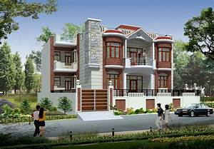 Duplex House Front Elevation Designs In India