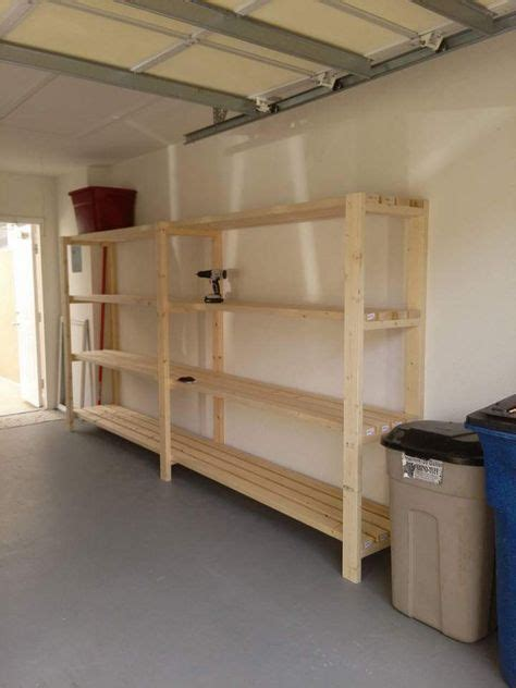 Garage Shelving Projects by Best 25 Garage Shelving Ideas On Building