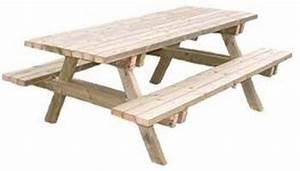 Table En Bois Avec Banc : tables de jardins tous les fournisseurs table de ~ Teatrodelosmanantiales.com Idées de Décoration