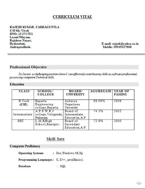 Resume Performa by 36 Sle Cv Templates Pdf Doc Free Premium Templates Cv