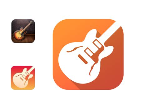 Garage Band App by Garage Band Ios 7 Icon Redesign By Alex Sadeck On Dribbble