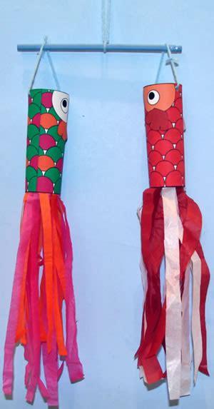koinobori toilet paper roll craft