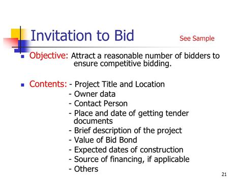 to bid fidic tendering procedures ppt