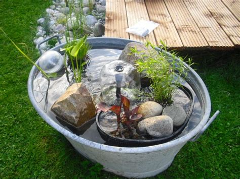 86 Best Galvanized Tub Water Gardens Images By Container