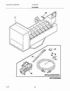 Frigidaire Ffhs2622msya Parts List