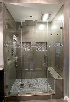 Shower Bath With Jets by 6 Jet Spray Shower System With Led Shower