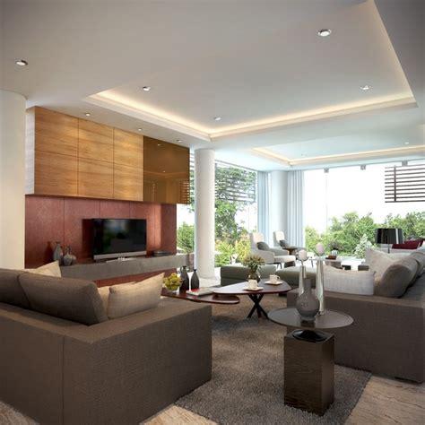 Cozy Family Room Overlooking Tropical Garden