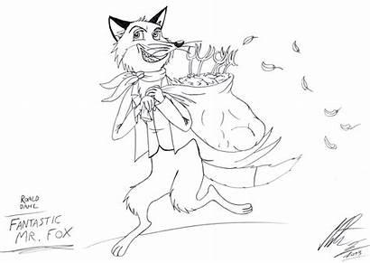 Dahl Roald Fantastic Fox Mr Drawing Draw