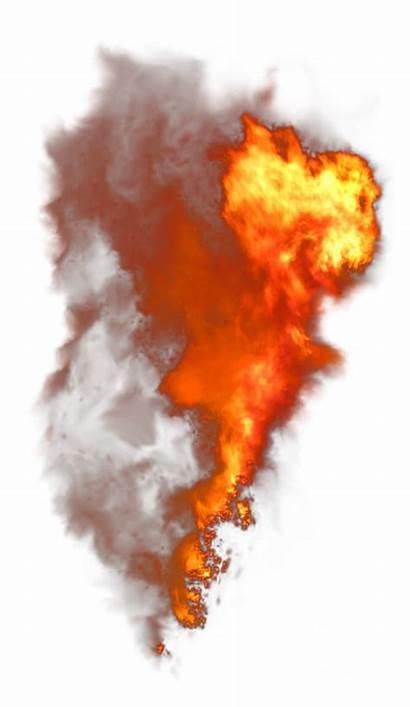 Burning Flame Smoke Transparent Purepng