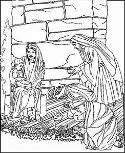 Kids N Funde 31 Ausmalbilder Von Bibel Weihnachtsgeschichte