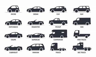 Types Different Cars Automobile Models Classification Vehicle