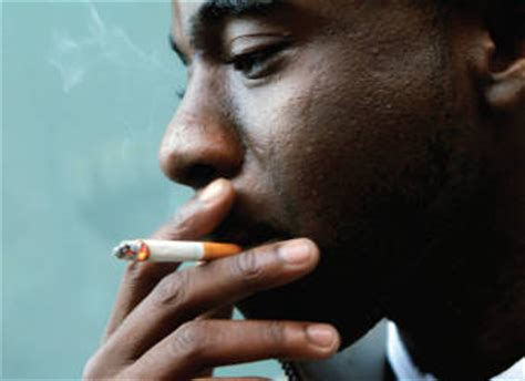 smoking rate   african american