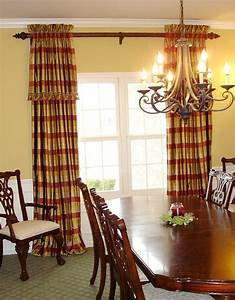 A family friendly formal dining room susan39s designs for Formal dining room drapes