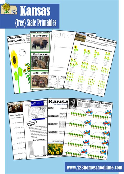 kansas early learning printable pack money saving mom