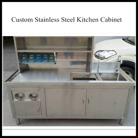 kitchen sink with cabinet cheap cheap home use waterproof environmental steel commercial