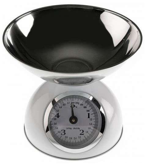 balance de cuisine balance de cuisine métallique rétro noir et chrome