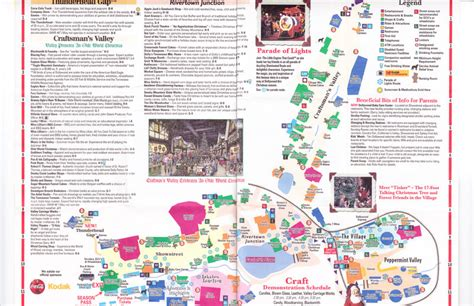 dollywood  park map