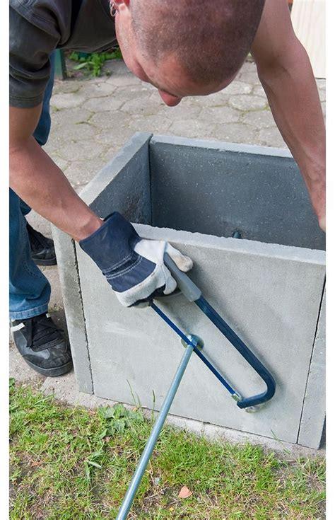 betonplatten selber machen gartenbank aus beton garten
