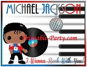 Inspired By Michael Jackson Birthday Party Decorations