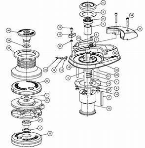 Lewmar V2  V3 Windlass Parts