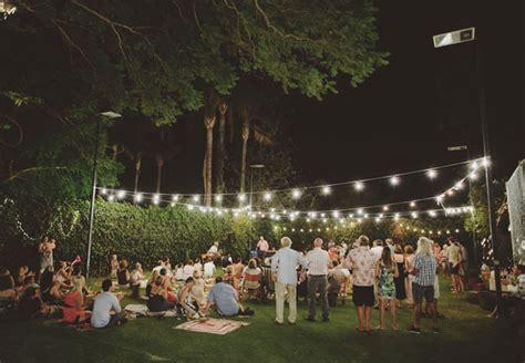 Backyard Picnic Wedding Arlene + Jake  Green Wedding