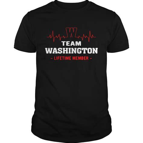 lifetime washington member team shirt