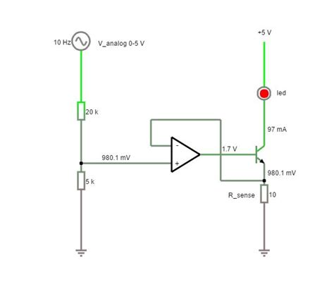 Led Driver Circuit With Both Analog Pwm Control