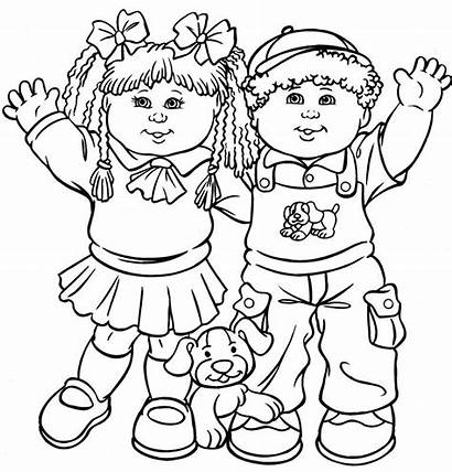 Coloring Pages Colouring Children Printable Friends Kid