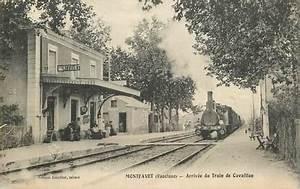 Gare De Bollène : cpa france 84 montfavet arriv e du train de cavaillon ~ Medecine-chirurgie-esthetiques.com Avis de Voitures