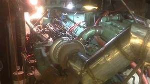 Detroit Diesel 8v71 Turbo Marine Engine
