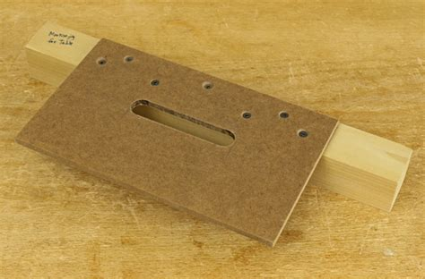 how to make a router template router mortising with shop made templates