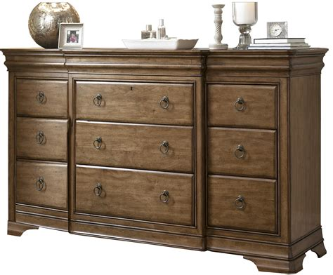 Pennsylvania House Solid Wood 12 Drawer Triple Dresser With Dovetails Kitchen Drawer Storage Ideas Liners Walmart Wire Basket Drawers Nz 7 Roller Cabinet Sofa Table With And Shelf File White Wicker Unit King Size Platform Bed Frame