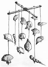Wind Chimes Seashell Chime Shell Diy Crafts Beach Surf Surfgirl Magazine Sea Surfing Craft Draw Making Summer Seashells Surfgirlmag sketch template