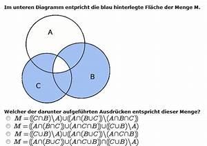 Elemente Von Mengen Durch Mengenoperationen Bestimmen