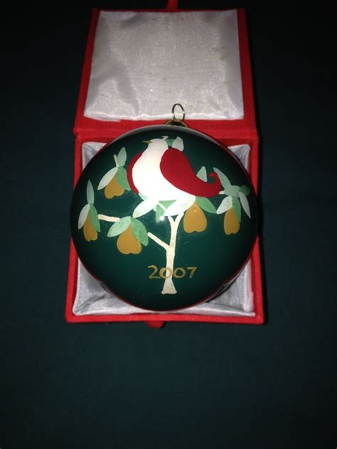 dillards 12 days of christmas ornaments free dillard s 12 days of ornament listia auctions for free stuff