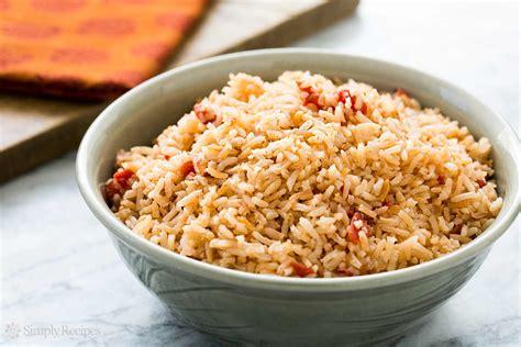 spanish rice recipe simplyrecipes com