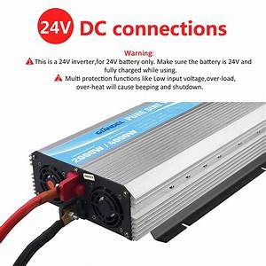 2000w  24v Pure Sine Wave Power Inverter