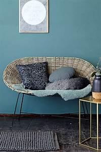 les 25 meilleures idees de la categorie bleu petrole sur With attractive couleur tendance deco salon 7 meubles en rotin pour un salon naturel et contemporain
