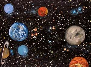 Original Painting, Solar System; 18 x 24 gallery-wrapped ...