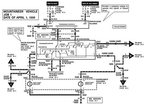 Ford Ranger Brake Light Wiring Diagram by 97 Ford Explorer 3rd Brake Light Will Not Work